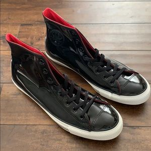 NWT men's patent leather converse